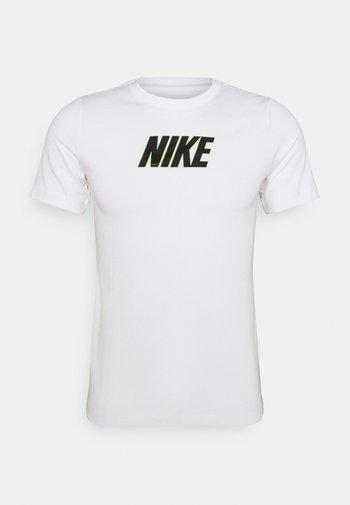TEE GLOW  - Print T-shirt - white
