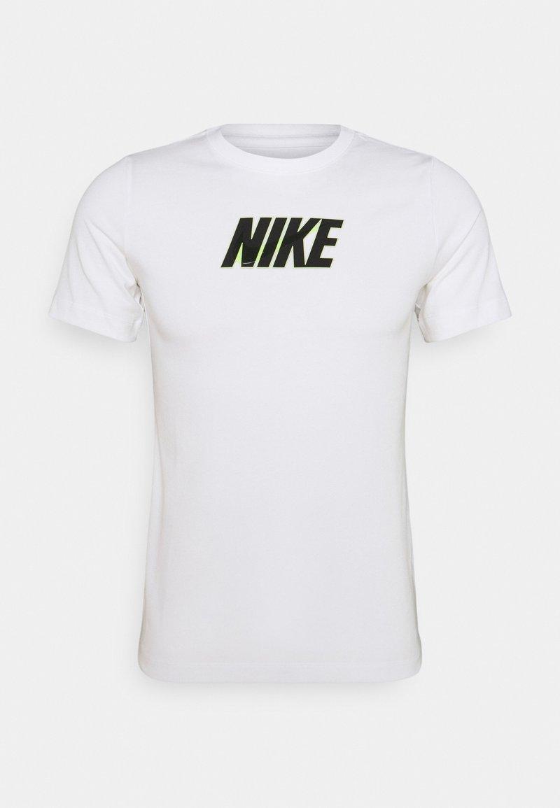Nike Sportswear - TEE GLOW  - Print T-shirt - white