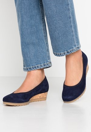 Wedges - bluette
