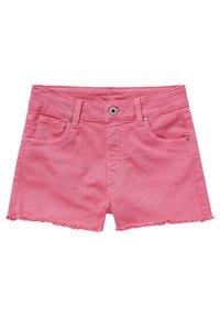 Pepe Jeans - PATTY  - Szorty jeansowe - bubble gum - 0
