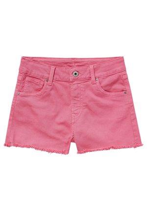 PATTY  - Shorts di jeans - bubble gum
