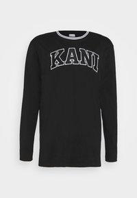 Karl Kani - SERIF LONGSLEEVE - Long sleeved top - black - 3