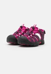 LICO - NIMBO - Chodecké sandály - bordeaux/pink - 1