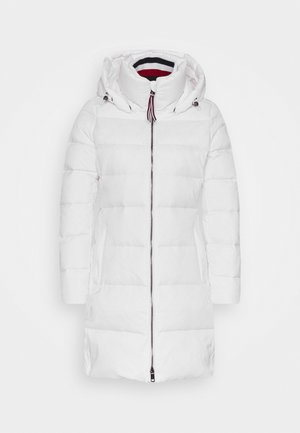 GLOBAL STRIPE COAT - Dunkåpe / -frakk - classic white