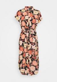 PIECES Tall - PCNYA SHIRT DRESS - Shirt dress - black - 0