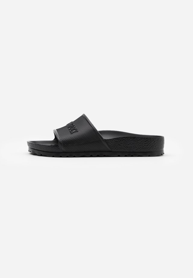 BARBADOS UNISEX - Pool slides - black