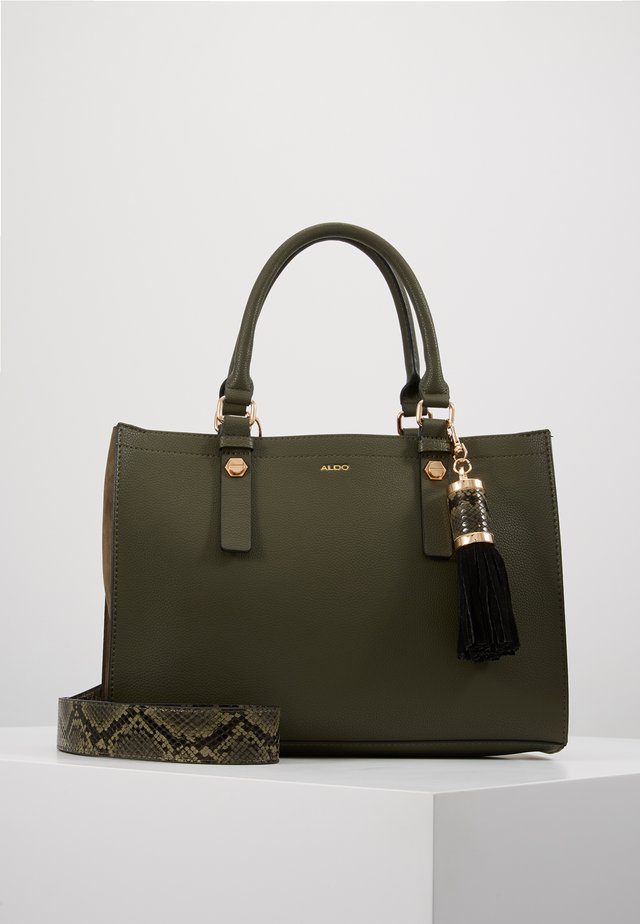 ZENAWIEN - Håndtasker - khaki green