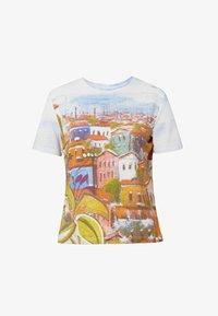 Desigual - Print T-shirt - white - 4