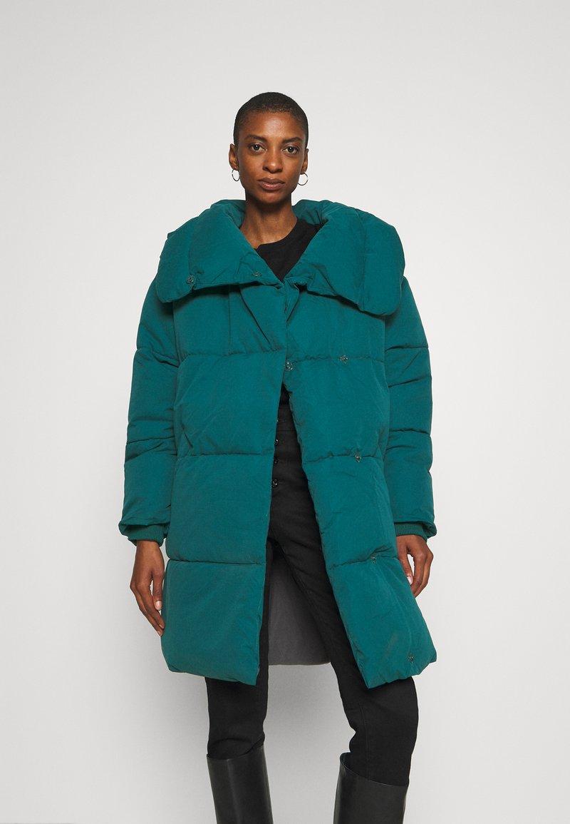 Thought - PHEBE COAT - Winter coat - kingfisher