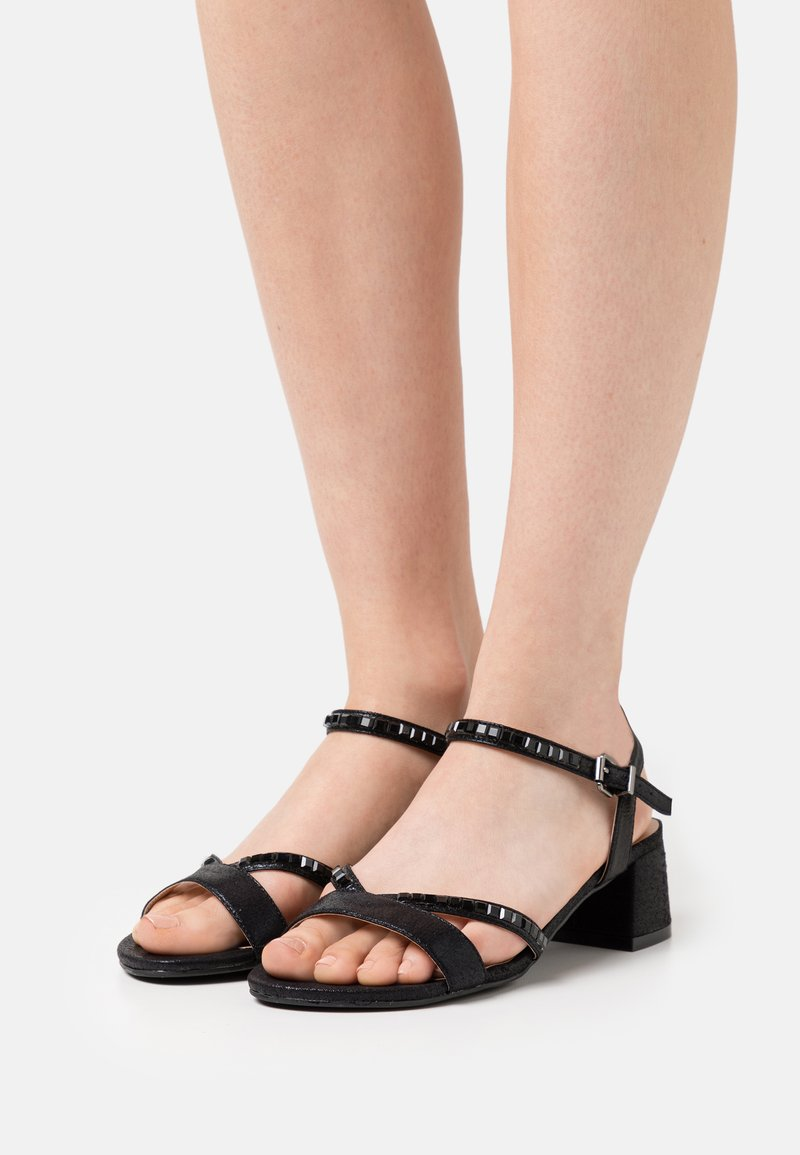 Simply Be - WIDE FIT CORSICA - Sandals - black