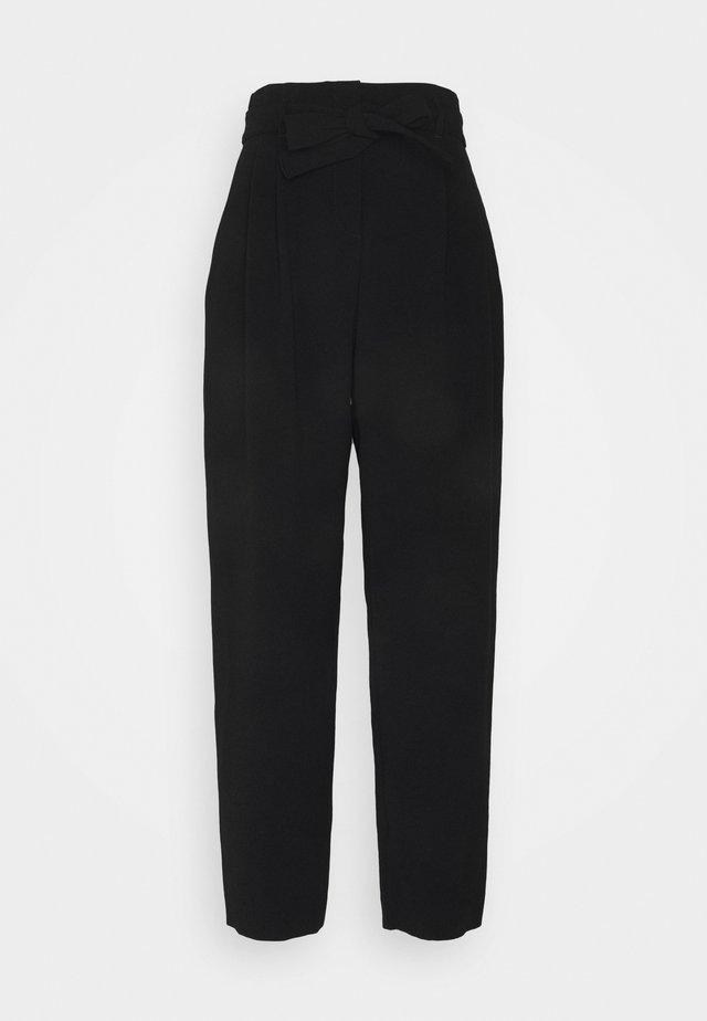RAPHAELA PANTALONE SABLE FLUIDO - Pantalon classique - black