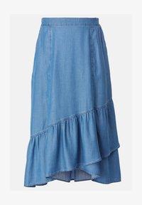 HELMIDGE - A-line skirt - blau - 5