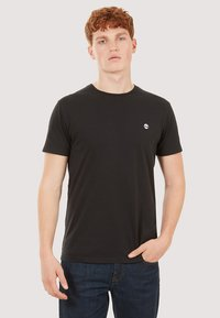 Timberland - BASIC SLIM TEE 3 PACK - Basic T-shirt - grey/white/black - 6