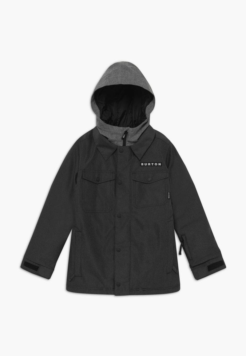Burton - UPROAR UNISEX - Snowboardová bunda - black denim