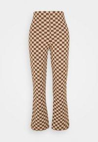 Monki - NOVA - Pantaloni - beige/brown - 4