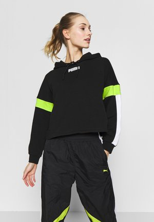 STUDIO CLASH ACTIVE HOODIE - Hoodie - black