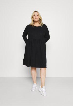 NMCITY JUNE DRESS - Jumper dress - black