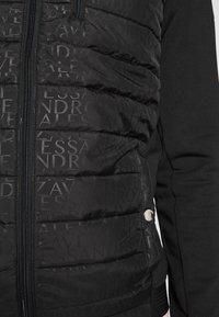 Alessandro Zavetti - SEVINIO HOODIE - Collegetakki - black - 5