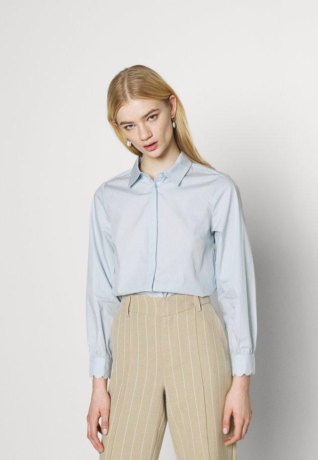 YASBELLA  - Button-down blouse - baby blue