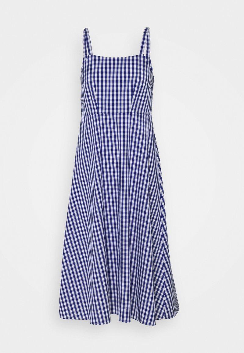 Anna Field - Day dress - blue/white