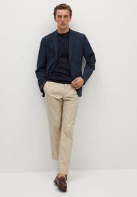 Mango - Z ERO - Blazer jacket - dunkles marineblau - 1