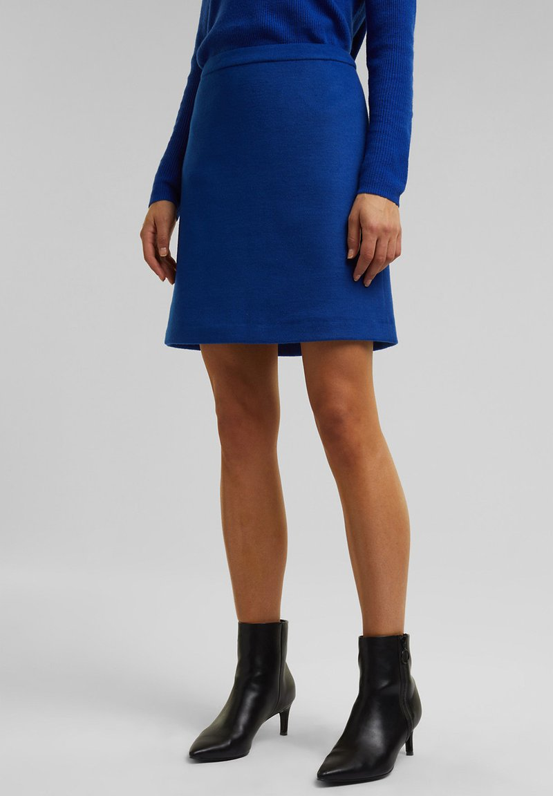 Esprit Collection - A-line skirt - bright blue