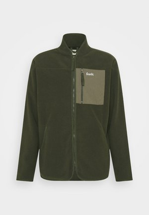 SILENCE JACKET - Fleece jacket - army