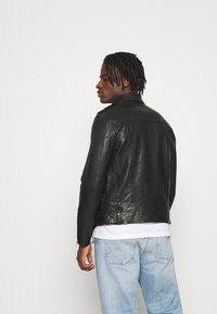 AllSaints - MONZA JACKET - Leather jacket - black - 2