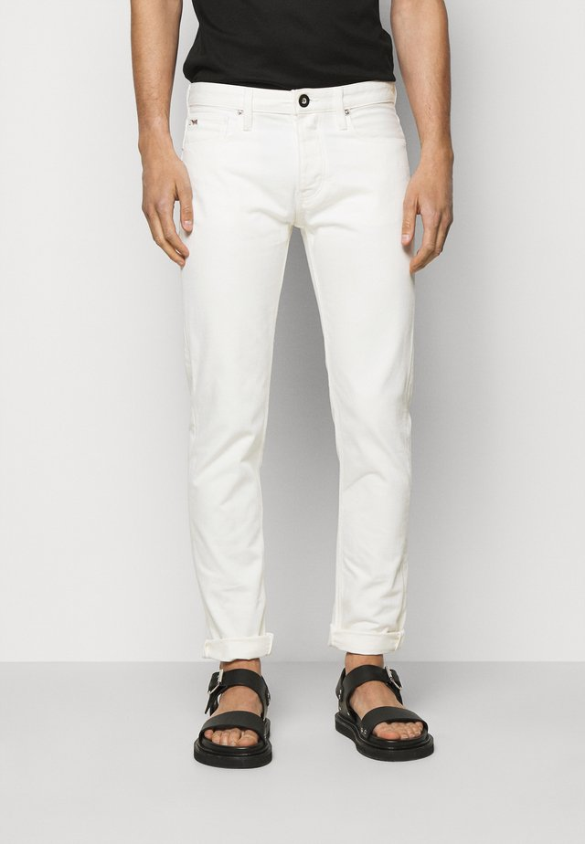5 POCKETS PANT - Jeans slim fit - white