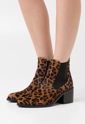 LEOPARD LADIES - Ankle boots - brown
