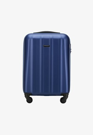 Wheeled suitcase - blau