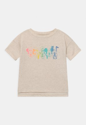 DISNEY MINNIE MOUSE GIRLS - T-shirt con stampa - mottled beige
