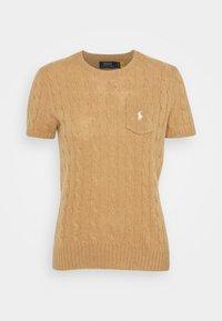 Polo Ralph Lauren - TEE SHORT SLEEVE - T-shirt z nadrukiem - collection camel melange - 3