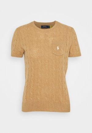 TEE SHORT SLEEVE - T-shirt print - collection camel melange