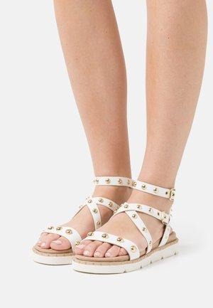 Sandály - soft bianco