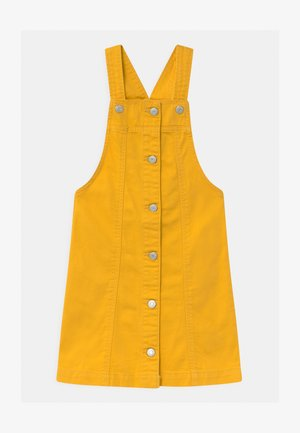 GIRLS  - Denim dress - rainslicker yellow