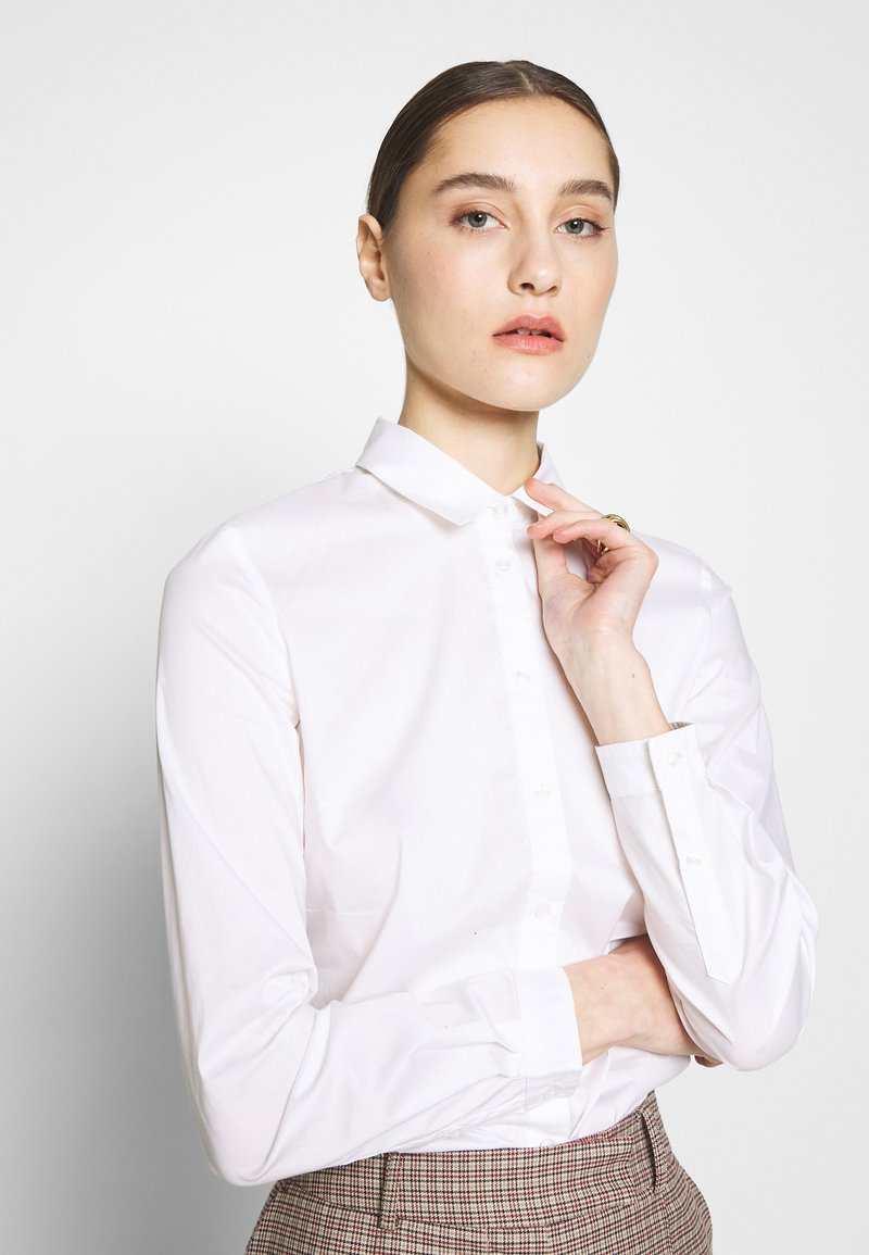 Sisley - Camicia - white
