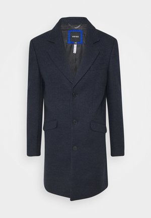 LONG COAT - Classic coat - ink blu