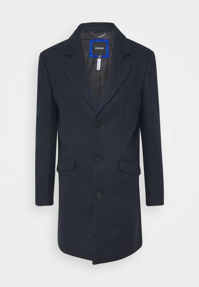 LONG COAT - Classic coat - ink blu