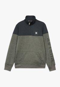 Hurley - SOLAR 1/2 ZIP - Sweatshirt - clay green heather - 0