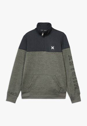 SOLAR 1/2 ZIP - Sweatshirt - clay green heather