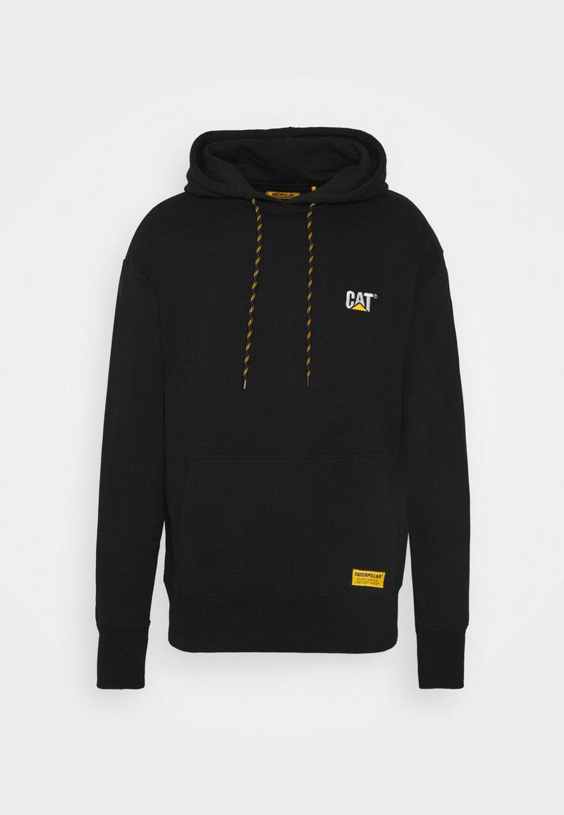 Caterpillar - SMALL LOGO HOODIE - Sweatshirt - black