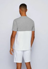 BOSS - TEE  - Print T-shirt - light grey