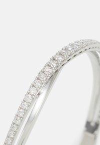Swarovski - TWIST BANGLE ROWS  - Bracelet - white - 4