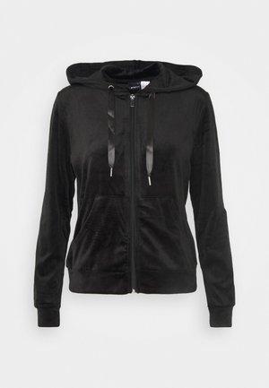 CECILIA HOODIE - Zip-up hoodie - black
