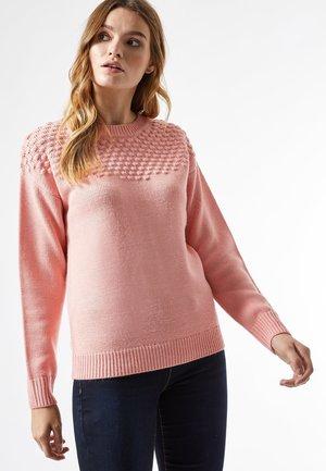 yoke - Jersey de punto - pink