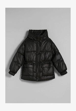 NYLONOPTIK MIT TASCHEN - Winter jacket - black