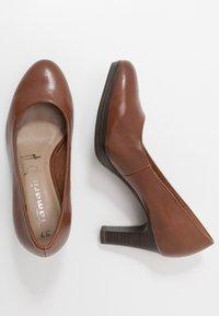 Tamaris - Platform heels - brandy - 3