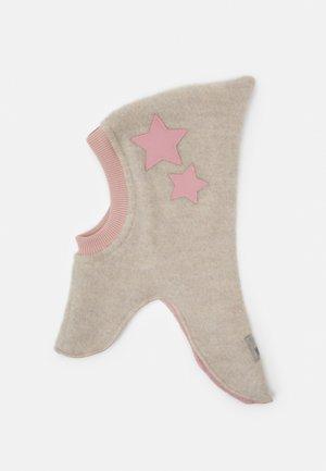 STARS - Beanie - camel/rose