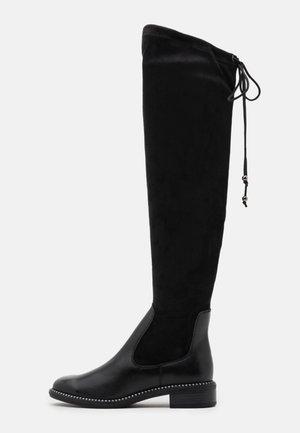 BOOTS  - Overknees - black